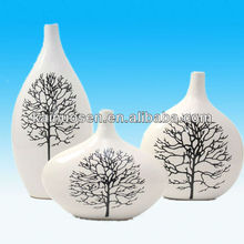 Popular Ceramic Pierced Flower Vase
