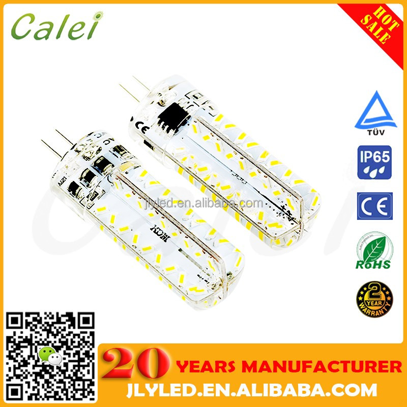 Bi-pin G4 LED Lamps Bulbs Lights AC110-130V 72PCS 3014 SMD 2 Years Warranty
