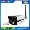 Sectec New Product 720P Smart PIR White Lights 360 Sight APP Home Security Wireless P2P IP Wifi camera