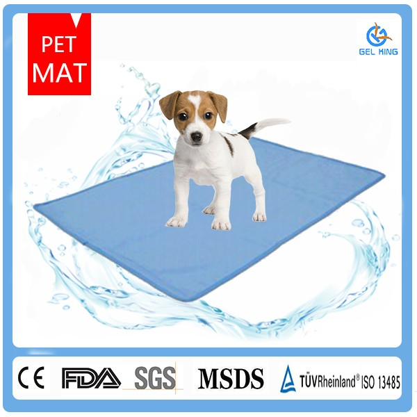 Lot Fancy Pet Dog Cool Pad Gel Mat for Dogs Cats Beds Crates Kennels in Car or at Home