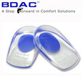 adhesive pu gel anti- fatigue heel spur cushions heel pads