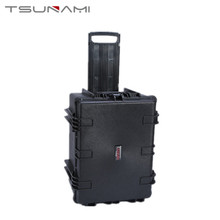 Hard Plastic Waterproof Large Storage Case with Wheels
