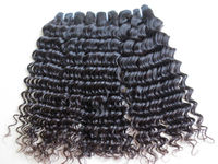 Natural black color peruvian hair weaves pictures