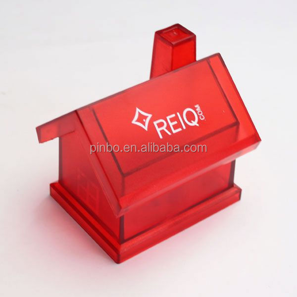 Kids House Shaped Kids Coin Bank With Lock