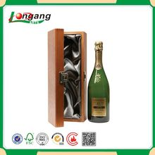 Manufacture handmade high quality classical single pine wood wine box