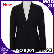custom black lady formal blazer coat women suits