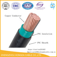 single core pvc insulated electrical pvc copper 16mm cable