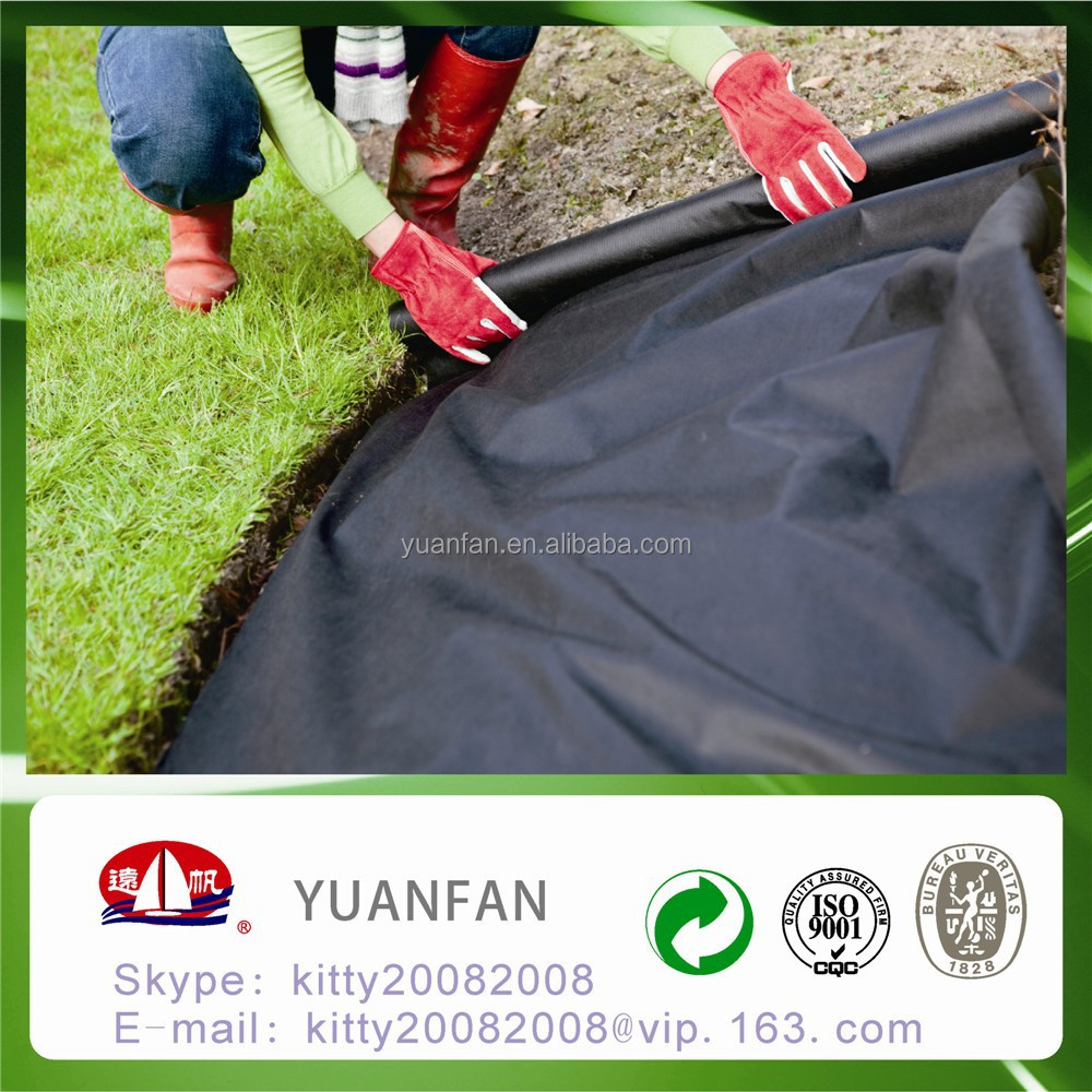 high strength / UV treated /waterabsorb pp spunbond non woven fabric for weed control / weedmat