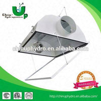 "6"" hydroponics greenhouse cooltube reflector/ reflector hingled glass/ 8"" air cooled tube"