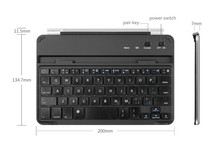 Different Language Wireless Ultra-light Bluetooth Keyboard Cover For Ipad Mini