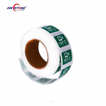 Wholesale RFID NFC 13.56MHz Printable Stickers Tag Packing