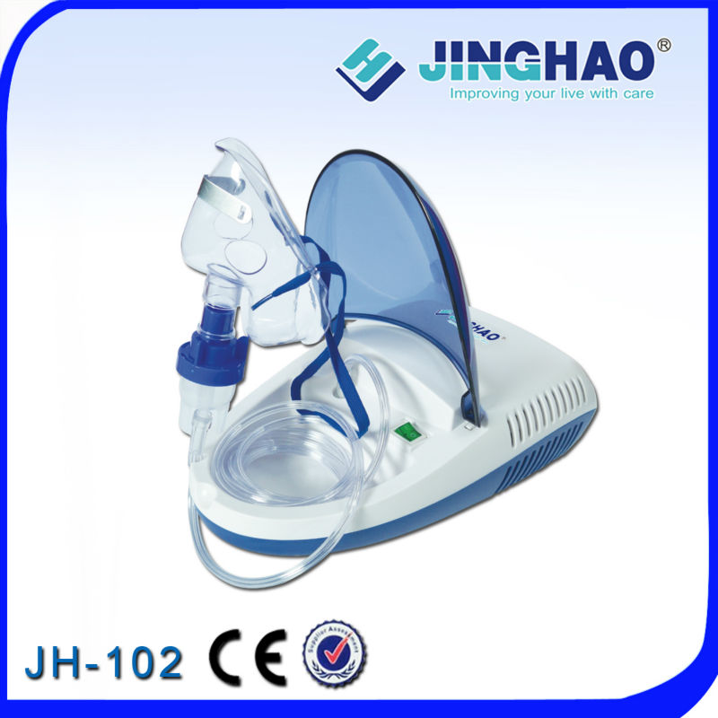 Compressing nebulizer portable asthma inhaler