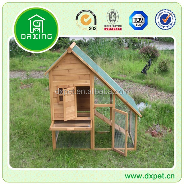 Rabbit hutch with pull out tray DXR032