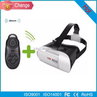Watch Sexy Movie VR BOX II 2.0 Version VR Virtual Reality 3D Glasses For 3.5 - 6.0 inch Smart phone+Bluetooth Controller 1.0