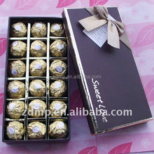 Chocolate Aluminum Foil Paper Packaging Color Printing