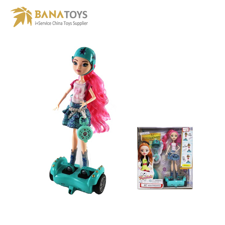 2018 new toys cool gift rc hoverboard doll girls toy
