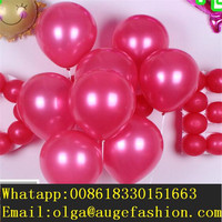 Party Balloons 9 inch pearl Color Latex Round Balloons with low price