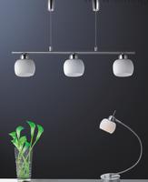 Modern glass shade indoor decorative drum pendant lighting