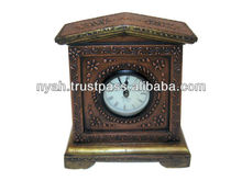 HOT SELLING BRASS ANTIQUE TABLE CLOCK