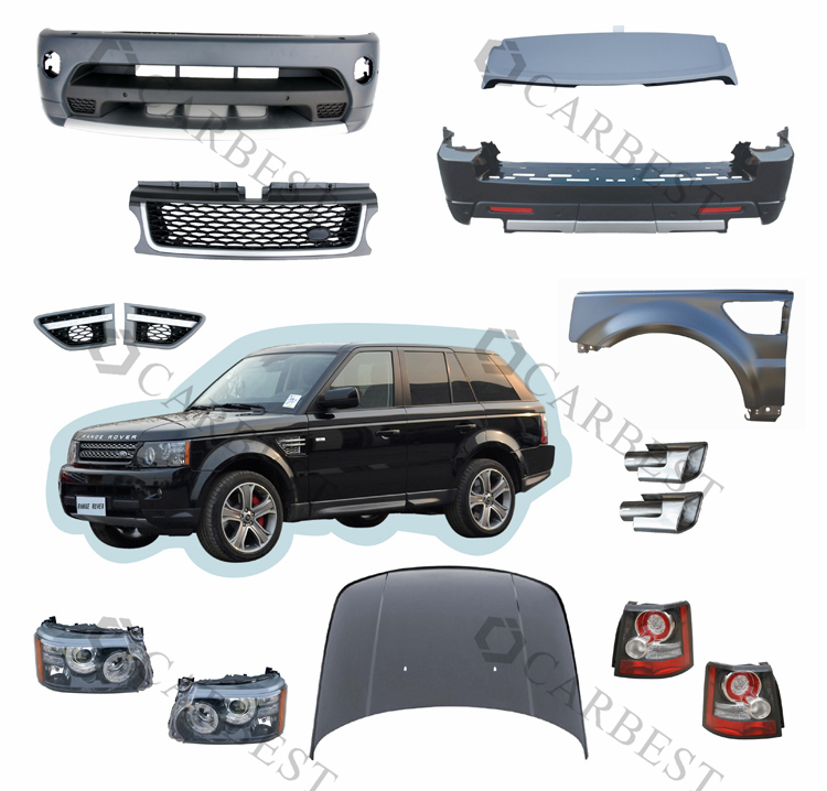 haute qualit hot vente body kit pour land rover range rover sport 2010 2011 pare chocs id de. Black Bedroom Furniture Sets. Home Design Ideas