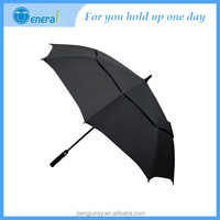 Double canopy with vents lexus golf umbrella