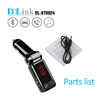 Bluetooth Handsfree FM Transmitter Car Kit Charger MP3 Player Smart Phone bluetooth car kit