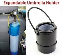 Canister Style Car tube storage Crumple Rain Umbrella Holder with Handle Folding