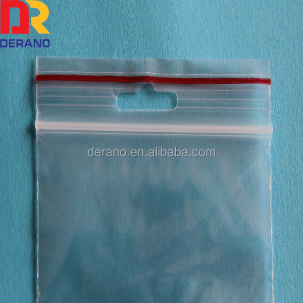 Pure ldpe small resealable plastic bags