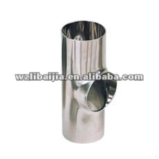 Stainless steel sanitarr short Tee