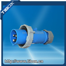 TIBOX CEE IP44 3 Pins 16 Amp Industrial Plug / Male Plug / Electrical Plug 110V with European standard