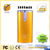 Portable/Durable/ power bank 5800mah capacity with LED indicator light