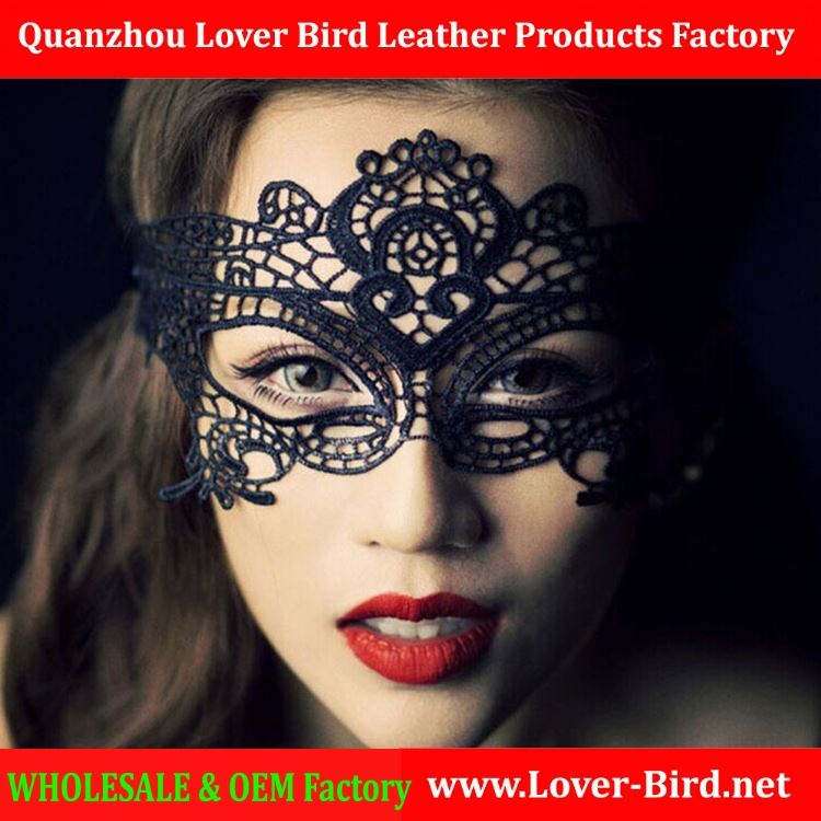 Adult Games Sex Black Lace Mask Eyes Sexy Lady Hollow Out Half Face Masquerade Party Masks for Women Sex Products