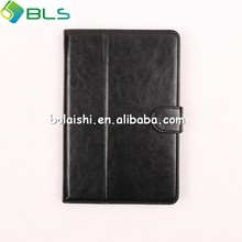 New design for ipad mini foursquare TPU cover kickstand defender premium PU leather case for ipad mini