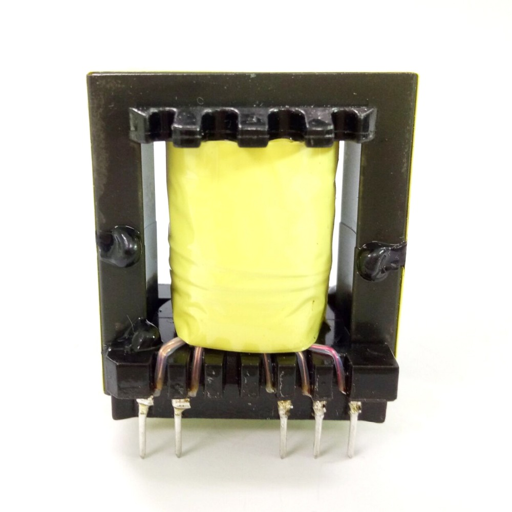 EC35 pin 6+4 high frequency microwave oven transformer with thermal stability
