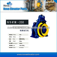 Gearless Traction Machine Motor,Elevator Permanent Magnet Synchronous Gearless Traction Machine NV41M-350