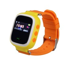 Remote monitoring android kids mobile phone watch with pedometer function