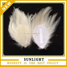 fascinate ivory goose feather pad for baby headband
