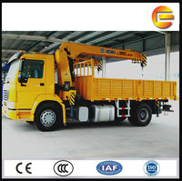 8 tons hydraulic mobile crane XCMG crane truck for sale in Dubai