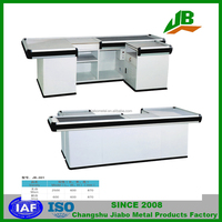 checkout counter cashier desk, used cash counter ,supermarket checkout counter