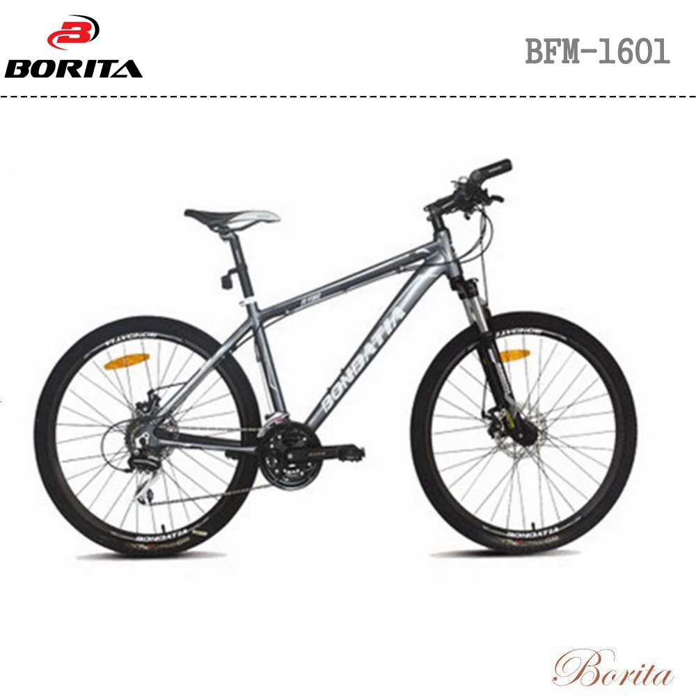 "Borita BFM-1601 26"" Aluminum Alloy Bikes Mountain Bicycle MTB Bike"