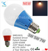 energy saving bulbs smd 3w 5w 7w e27 led bulb lights multicolor led home lighting