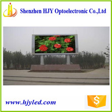 RGB p10 led sign advertising battery powered led screen