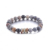 2018 New Arrival DIY Decompression Relaxed Natural Stone Beads Bracelet For Men And Women