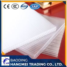 Uv blocking 6mm ge lexan bayer honeycomb polycarbonate sheet for wholesales