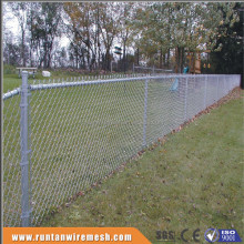 High quality hot dipped galvanized and pvc coated used chain link fence (Trade Assurance)