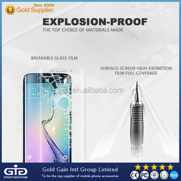 [GGIT] 2.5D 9H Tempered Glass Protector For Samsung S6 Edge