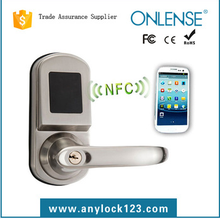 hot ! door handle lock indoor electronic new style hotel lock with NFC function