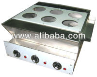 Color tinting stove