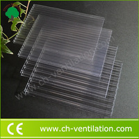 2014 Best Selling 8mm translucent polycarbonate sunshade roof sheet