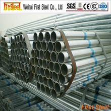 China alibaba golden supplier high quality 4 inch galvanized pipe size chart